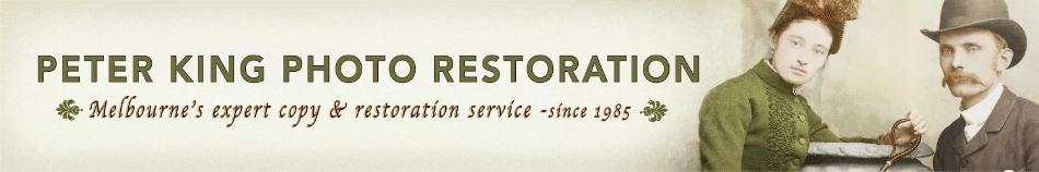 Peter King Photo Restoration header image