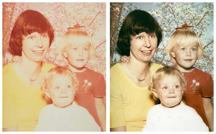 Photo restoration Melbourne